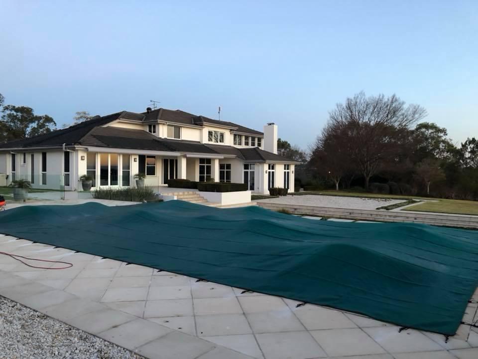 Custom Winter Pool Covers