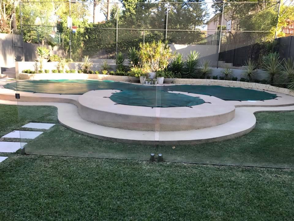 debris pool cover